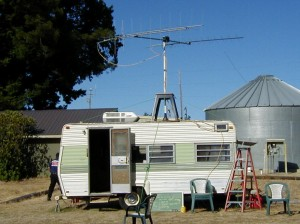 The luxurious Field Day Satellite Station.